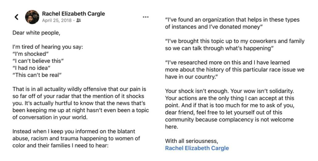 Rachel Cargle